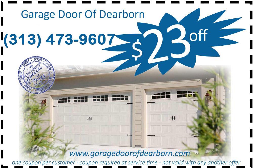 Garage Door Dearborn Coupon Dearborn Michigan